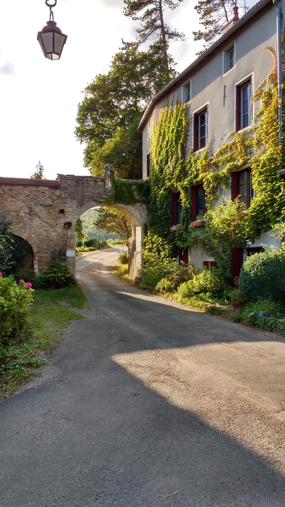 Ancient Town Gate- La Bussiere