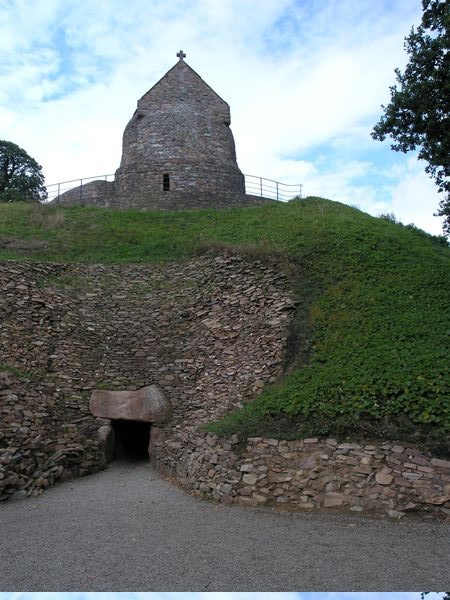 Hougue Bie, Jersey- passage tomb & mediaeval Church