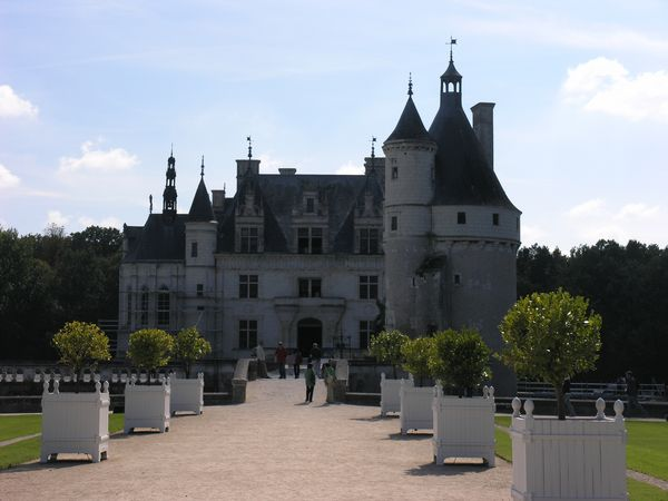 Chateau at Chenonceau